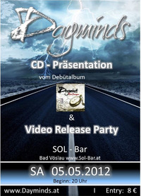 Dayminds - CD-Präsentation & Video Release Party