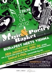 MUSIC & POETRY BASKET w/ ALBIN JANOSKA ft  JUDIE JAY | SOULCAT E-PHIFE|