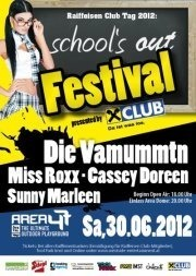 School's out Festival 2012 @ Area 47 presented by Raiffeisen Club Tirol
