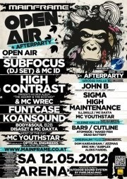 Mainframe Open Air + Afterparty 2012