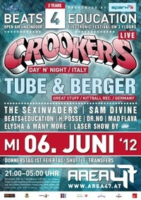 2 Jahre Beats4Education with CROOKERS@Area 47