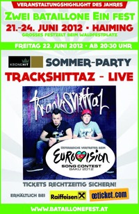Kronehit Sommer Party  Trackshittaz live on stage@Eventzelt