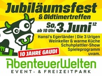 Jubilumsfest & Oldtimertreffen mit Frhschoppen@AbenteuerWelten - Event- & Freizeitpark