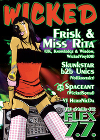 Wicked feat Miss Rita+Frisk@Flex