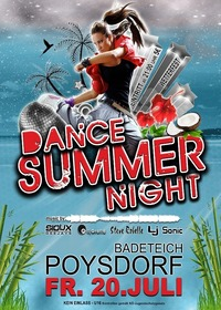 Dance Summer Night@Badeteich Poysdorf