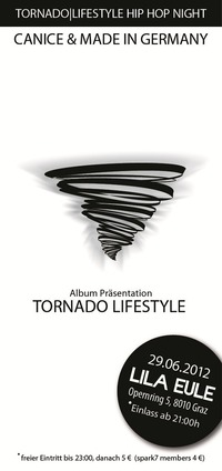 Canice & Made in Germany Album Release Party | Tornado Lifestyle Hip Hop Night |