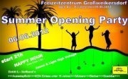 Summer Opening Party@Freizeitzentrum