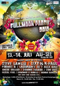 Fullmoonparty 2012 - 2 Day`s & Night`s Open Air Festival@Ausee