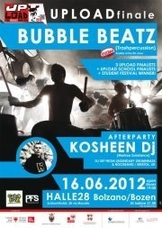 UPLOAD FESTIVAL w/BUBBLE BEATZ live+ KOSHEEN Dj Set @ HALLE28 Bolzano
