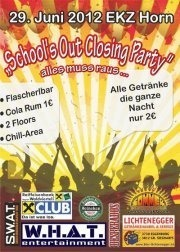 School Out - Alles raus - die Party@EKZ Horn