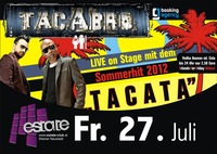 Tacabro Live on Stage mit