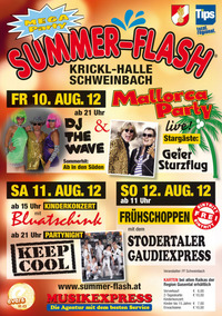 Summer-Flash 2012@Krickl-Halle