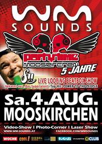 Wm-sounds Partytime mit Beatbox-star fii