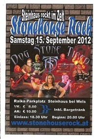 Stonehouse Rock@Zeltfest Raika Parkplatz