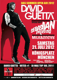 David Guetta Live@Knigsplatz