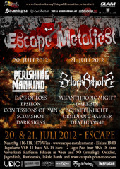 Escape Metalfest 2012