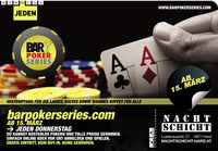 Bar Poker Series Turnier in der Nachtschicht Hard