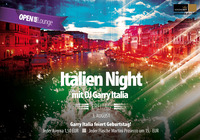 Italien Night mit DJ Garry Italia