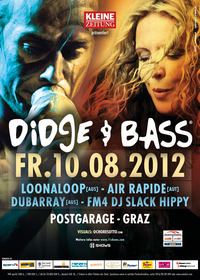 Didge & Bass mit Loonaloop, air rapide und Slack Hippy