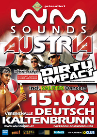 WM-Sounds Austria mit Dirty Impact & Chris Antonio | Deutsch Kaltenbrunn