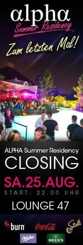 Closing Alpha Club Summer Resicency