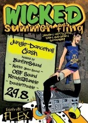 WickedSummerFling- Jungle-Dancehall Clash