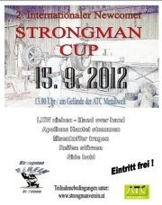 2. Internationaler Newcomer Strongman Cup