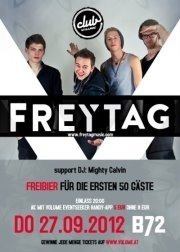Club Volume #9 - Album Release Party: Freytag (live)