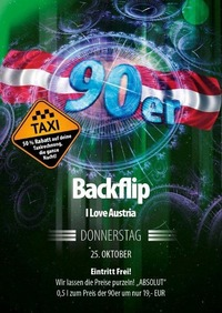 Backflip - I love Austria