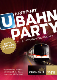 Die 2. KroneHit U-Bahn-Party