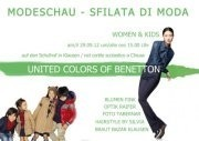 Modeschau United Colors of Benetton Kids  & Woman