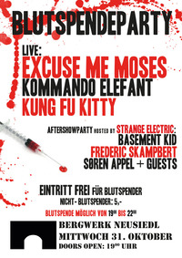 Blutspendeparty 2012