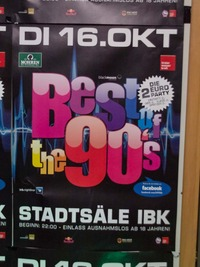 90`Party @ Stadtsaal IBK