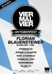 Viermalvier Oktoberfest mit Florian Blauensteiner