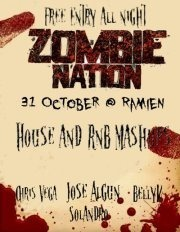 Zombie Nation - Halloween Party @ Ramien Bar