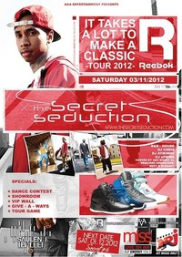  The Secret Seduction | Classic Reebok Tour 2012