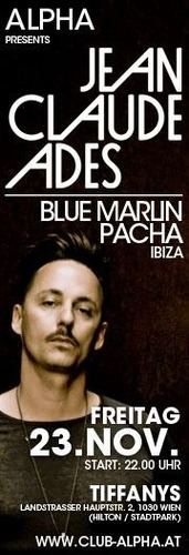 Alpha presents Jean Claude Adesblue Marlin, Pacha Ibiza