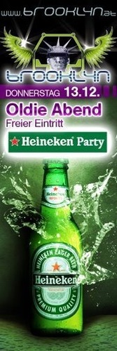 Oldie Abend & Heineken Party