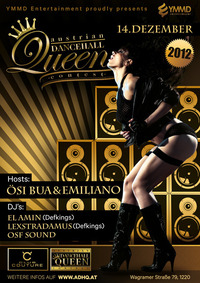 Austrian Dancehall Queen Contest 2012 presented by YMMD Entertainment  