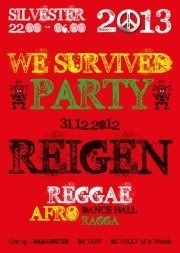 Big Baffolo pres.: we Survived / Reggae-dancehall-afro Silvester