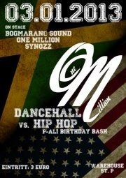 Hip Hop vs. Dancehall - One Million