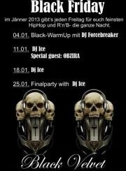 Black Friday with DJ Ice and Special Guest Obzira