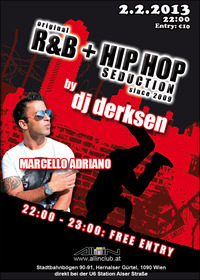 original R&B + Hip Hop Seduction since 2009 by dj derksen