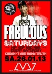 Fabulous Saturdays - Hip Hop and R&B - LVL7