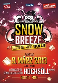 Snowbreeze Electronic Music Open Air