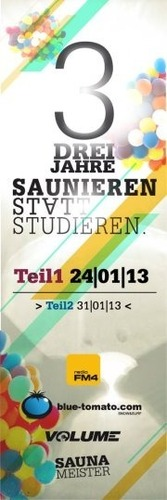 Saunieren Statt Studieren - 3 Jahre  Teil 1