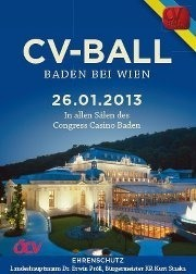 65. CV-Ball Baden - Der Traditionsball in Niedersterreich