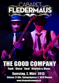 The Good Company - Live - Funk, Disco, Soul, Rhythm & Blues