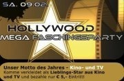 Hollywood - Mega-Faschingsparty