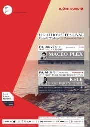 Lighthousefestival Preparty Weekend feat. Maceo Plex & Kele/Bloc Party